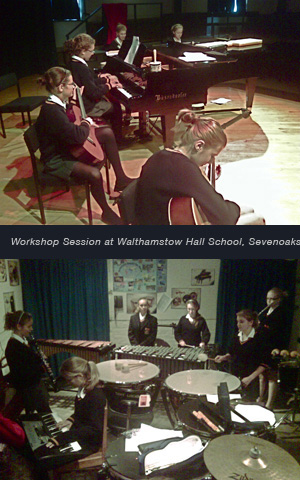 Workshop Session at Walthamstow Hall School, Sevenoaks